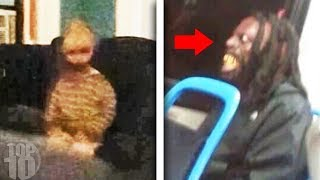 Scary Videos Caught on Buses