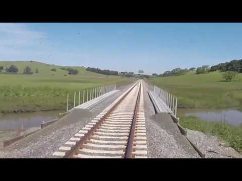 Take a ride on SMART: Novato San Marin Station to Petaluma Downtown Station