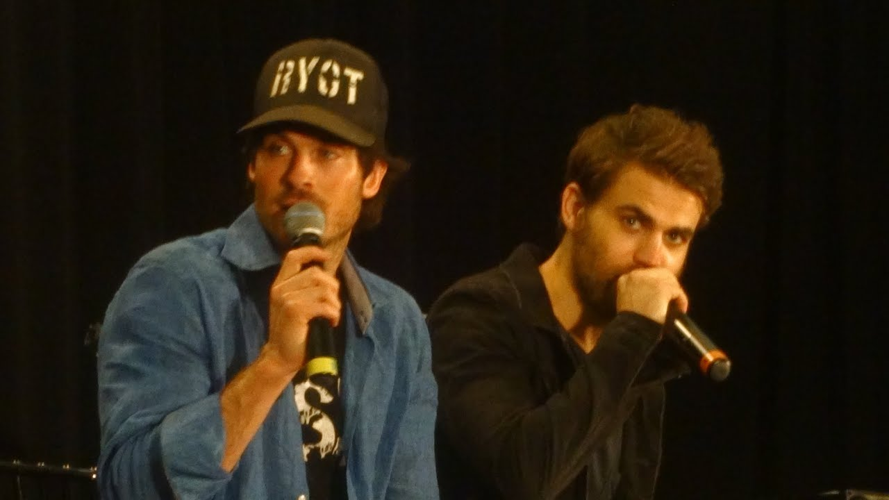 Ian somerhalder paul wesley vampire diaries convention youtube m4hsunfo