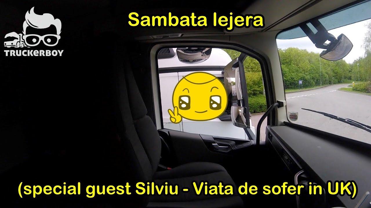 #truckereala151 - Sambata lejera (special guest Silviu - Viata de sofer in UK)