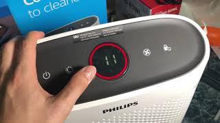 Hướng dẫn sử dụng máy lọc không khí Philips Series 1000i - Đo PM 2.5 kết nối wifi