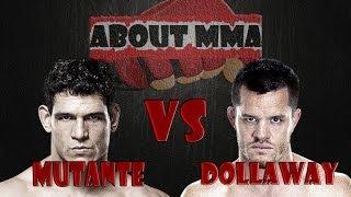 Cezar Mutante vs CB Dollaway - Mutante da bobeira e CB Nocauteia aos 39 Segundos do 1ºRound