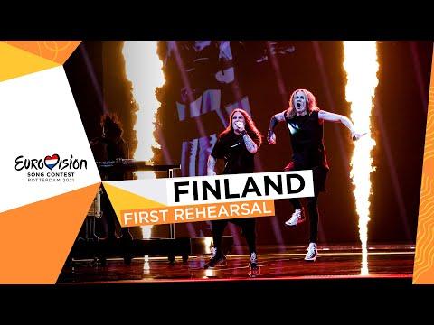 Blind Channel - Dark Side - First Rehearsal - Finland ?? - Eurovision 2021
