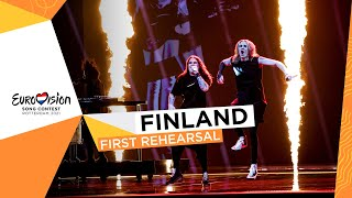 Blind Channel - Dark Side - First Rehearsal - Finland 🇫🇮 - Eurovision 2021