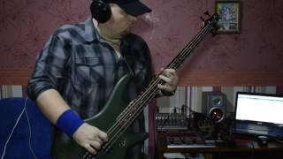 NoizeMC - ругань из за стены (bass cover)
