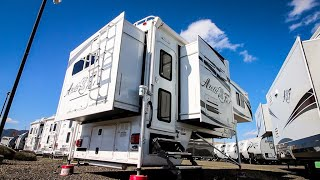 Only ONE BUILT in the WORLD | Arctic Fox 1163 TRUCK CAMPER  Full Tour  !!