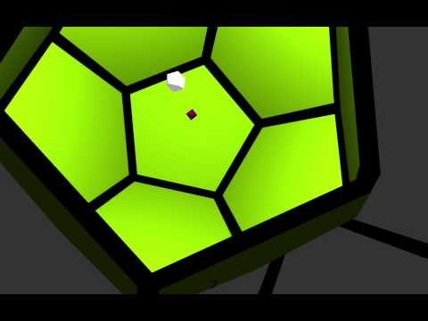 138 Polyhedron Runner Gameplay Demo