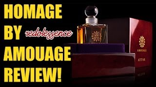 Homage by Amouage Fragrance / Cologne Review(Presentation: 1:57 | Smell: 3:17 | Rating: 6:55 A fragrance review of Homage by Amouage. Thanks for watching! Buy cheap designer and niche fragrances at ..., 2014-06-08T12:12:46.000Z)