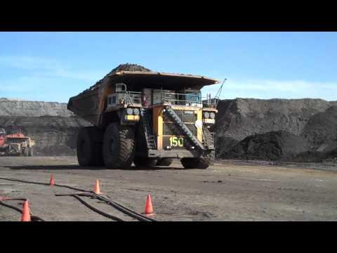 Oil Sands Quarry In Alberta, Canada