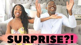 We're PREGNANT! (Live Reactions!)  | Infertility IVF Journey | Our Pregnancy Announcement