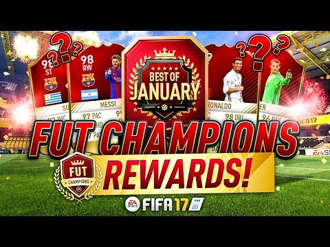 FUT Champions BEST OF JANUARY TOP 100 REWARDS! WALKOUT!!