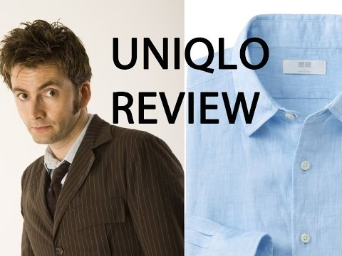 Tenth Doctor Cosplay Review: The Uniqlo Linen Shirt