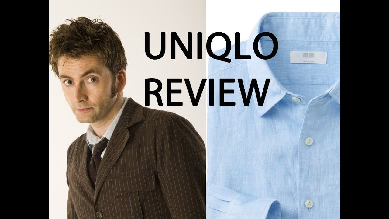 tenth doctor cosplay review the uniqlo linen shirt youtube