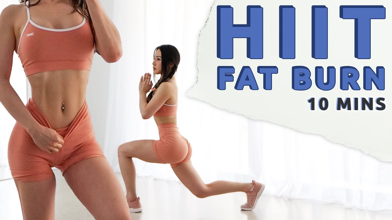 10 Min HIIT Cardio to Burn Fat | Summer Shred Challenge 2021
