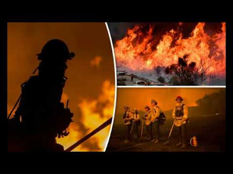 California wildfires: 'Devil winds' expected to boost fires