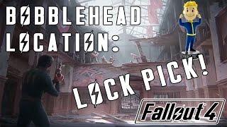 Fallout 4: LOCK PICK Bobblehead Location - Pickman Gallery!