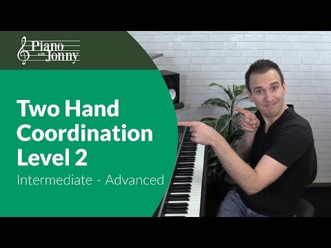 Two-Hand Coordination - Intermediate/Advanced Piano Lesson by Jonny May