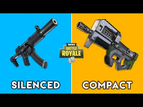 Silenced SMG (Unvaulted) vs Compact SMG