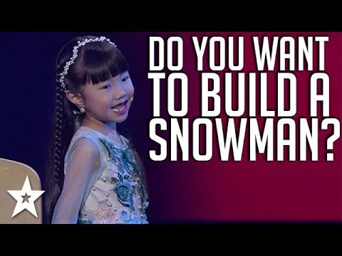 Little Girl Sings FROZEN on Kids Got Talent China | Got Talent Global
