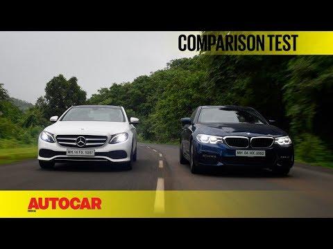 BMW 530d M Sport vs Mercedes-Benz E350d Avantgarde | Comparison Test | Autocar India