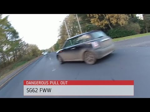 SG62 FWW pulls out in front of cyclist (NSFG) #OpParamount @GlenrothesPol
