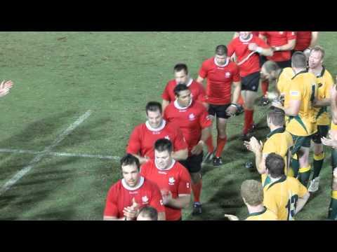 Rugby Classic Canada Wins vs Australia Bermuda November 10 2011