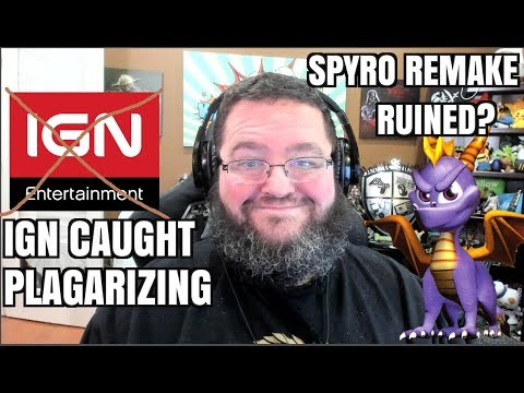 Gaming News; IGN Caught Stealing - Spyro Reignited Trilogy Missing Games?