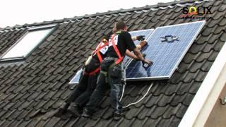 Zonnepanelen installeren - stap voor stap.