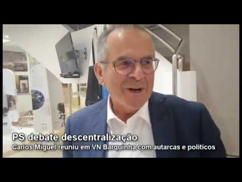 VN Barquinha | A descentralização e a regionalização, a visão de Carlos Miguel