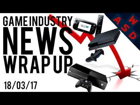 Console Gaming Market Down In 2016 | Game Industry News Wrap Up | March 18th 2017