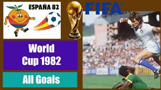 World Cup 1982 in Spain. All Goals HD.
