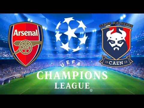 Final da Champions League - Arsenal vs SM Caen - Fifa 16 Carreira Manager EP253 [PC]