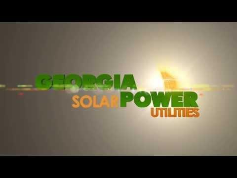 Georgia Solar Power Utilities Logo