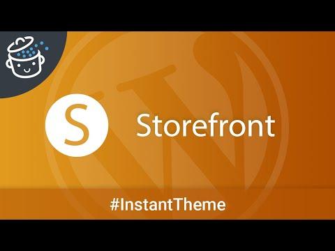 L'Instant Thème #6 : Storefront, le meilleur thème WordPress e-commerce?
