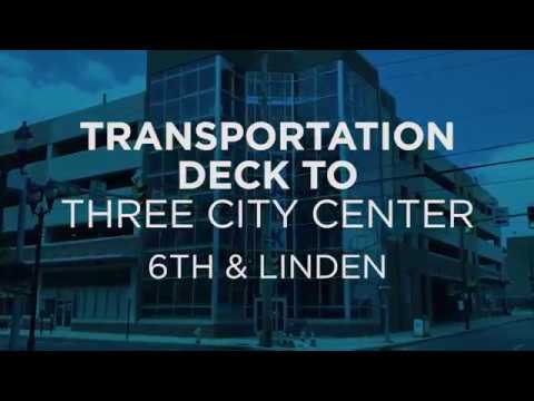 Transportation Parking Deck to Three City Center