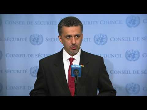 SC President (Bolivia) on Colombia - Security Council Media Stakeout (30 June 2017)