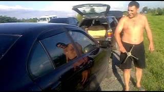 Осетия. Лето Владикавказ...закрылась BMW
