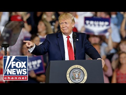 Trump Thanks Dems For Voting Against Impeachment At Rally
