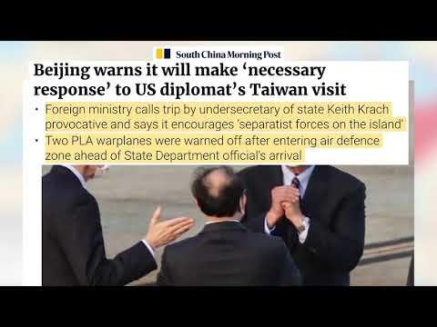 S. China Morning P | Beijing warns it will make 'necessary response' to US diplomat's Taiwan visit.