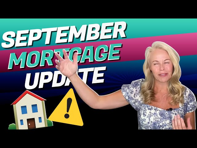 September Mortgage Update: VA Loans, Conventional Mortgages & Current State of Real Estate Market 🏡