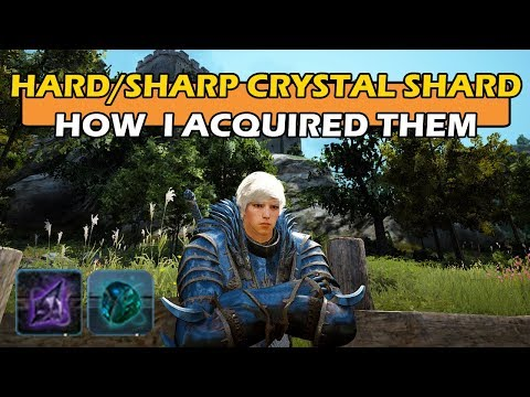 Hard & Sharp Black Crystal Shards - How I go about Acquiring them & Insights - BDO SEA