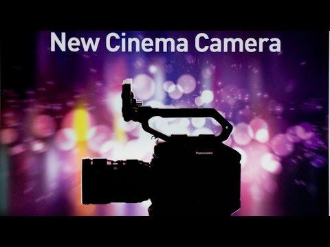 Panasonic shows new Mystery Cine Camera at NAB 2017