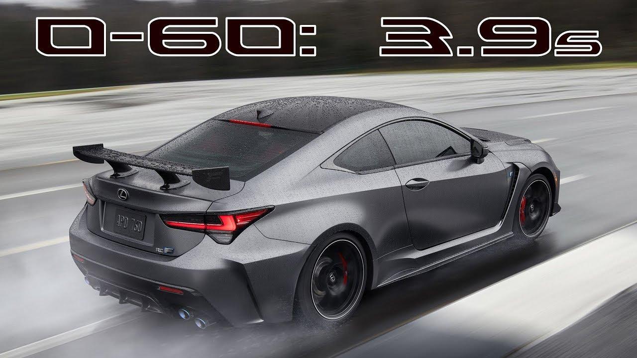 2020 Lexus RC F Track Edition Unveil