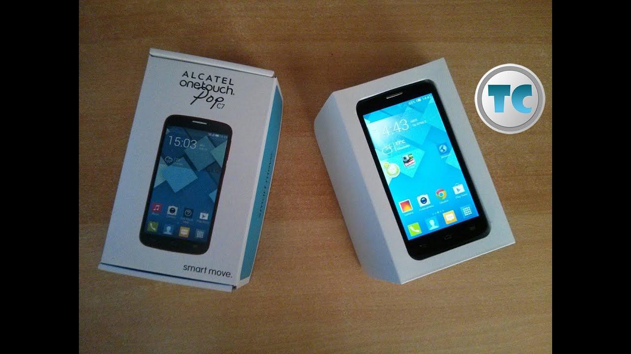 Alcatel One Touch Pop C7 Recensione   Unboxing Ita