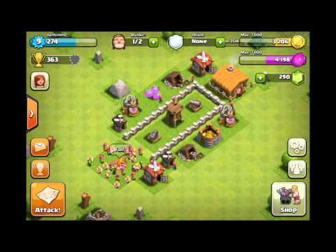 Best Clash Of Clans Defense - Town Hall 2 Base Layout