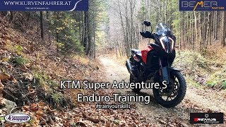 #trainyourskills with KTM 1290 Super Adventure S
