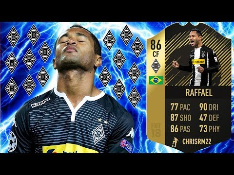 *SIF* RAFFAEL (86) PLAYER REVIEW! FIFA 18 ULTIMATE TEAM