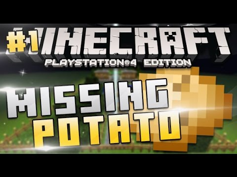 how to get potatoes in minecraft ps4