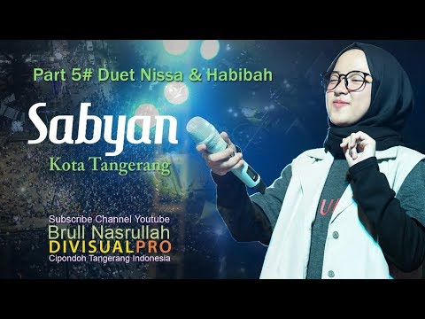 Sabyan di Festival Al-A'zhom Part 5# FullHDDuet with Habibah Backing Vocal 2