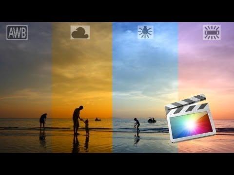 Fix White Balance / Color Balance for Video Using FCPX (Final Cut Pro X)
